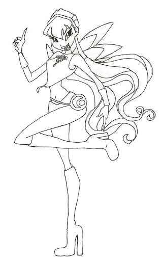 Winx Coloring Game Kids Club