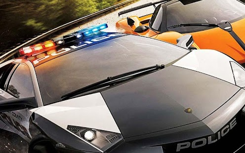 Police cars Hot Pursuit - screenshot thumbnail
