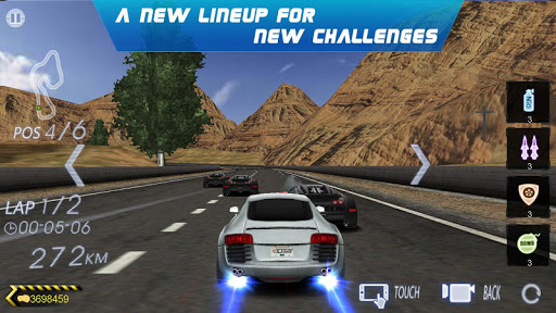 Crazy Racer 3D - Endless Race 1.6.061 screenshots 2