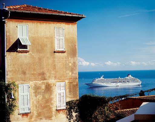 Crystal-Symphony-Villefranche - Visit quaint buildings and historic churches when the Crystal Symphony sails to Villefranche-sur-Mer on the edge of France.