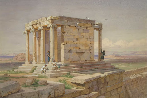 The Temple of Athena Nike. View from the North-East