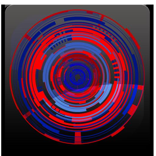 Tech Rings 2 Live Wallpaper Fr 個人化 LOGO-阿達玩APP