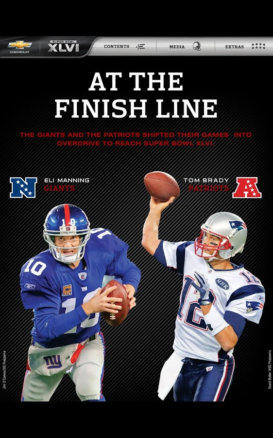 Super Bowl XLVI Game Program- screenshot