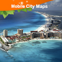 Cancun Street Map logo