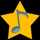 音樂排行榜的豪華 icon