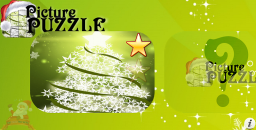 Christmas Tree Picture Puzzle