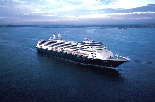 """Holland-America-Prinsendam - Designed to explore the remote corners of the world in elegance and style, the Prinsendam (it means """"princes"""") holds just 835 passengers, giving guests the feel of a classic yacht with the spaciousness of a cruise ship."""