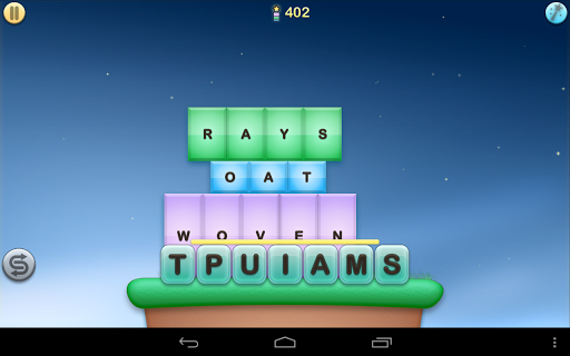 Jumbline 2 - word game puzzle Screenshot