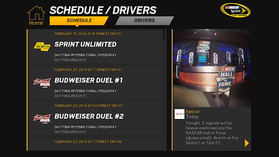 NASCAR RACEVIEW MOBILE Screenshot 38