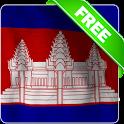 Cambodia flag Free icon