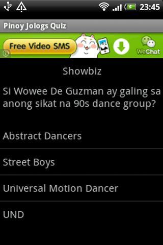 Pinoy Jologs Quiz