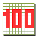 100 squares calc -time attack- logo