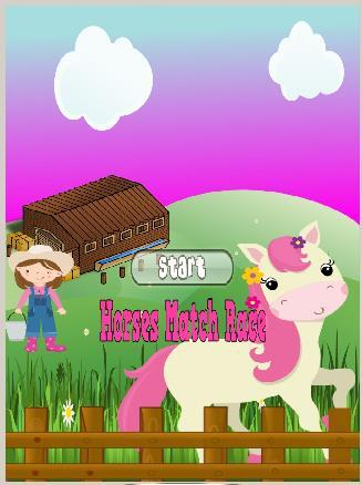 Horses Game Match Race Ad Free