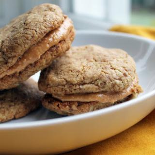 Peanut Buttery Sandwich Cookies [Vegan, Gluten-Free]