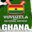GHANA VUVUZELA and ANTHEM! logo