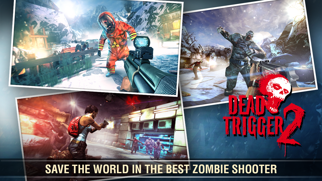 DEAD TRIGGER 2: FIRST PERSON ZOMBIE SHOOTER GAME- screenshot