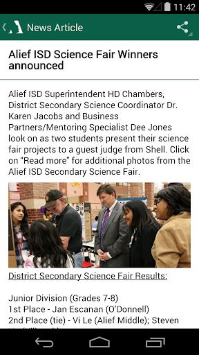 Alief ISD|玩教育App免費|玩APPs