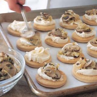 Mushroom and Mascarpone Tartlets