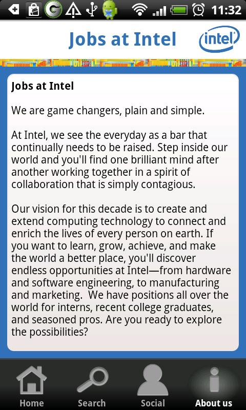 Jobs At Intel - screenshot
