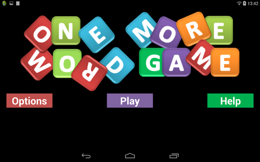 One More Word Game