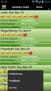 Indiana Lottery Droid Lite - screenshot thumbnail