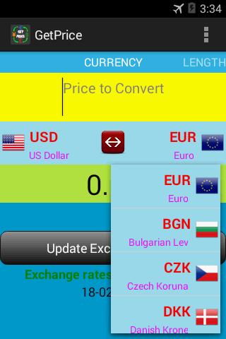 GetPrice-Global Conversion App