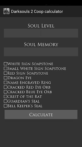 Dark souls 2 Co-op calculator