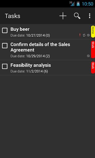 Local Sync Task Notes