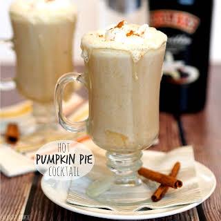 Hot Pumpkin Pie Cocktail.