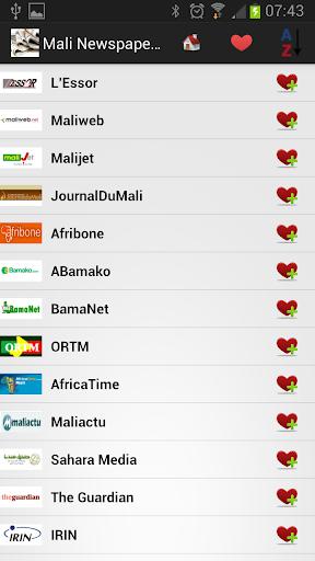 Mali Newspapers And News