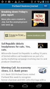 The Portland Business Journal - screenshot thumbnail