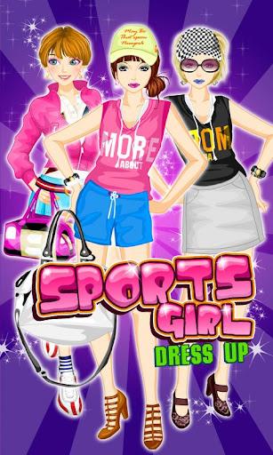 Dress Up Sport Girl