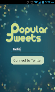 Popular Tweets- screenshot thumbnail