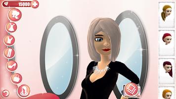 Screenshot of Fashion Show Dress Up Game