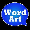 WordArt Chat Sticker MessageME icon