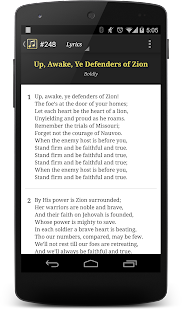 LDS Hymns with Notes - screenshot thumbnail