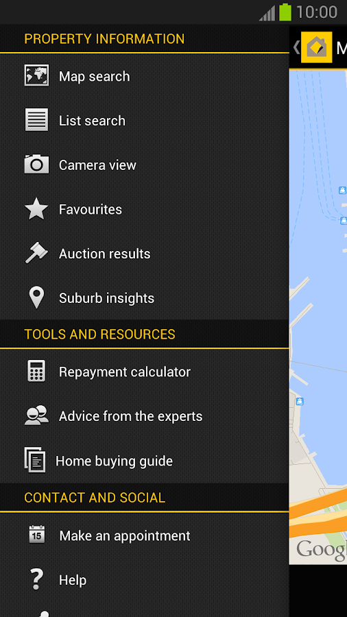 CommBank Property Guide - screenshot
