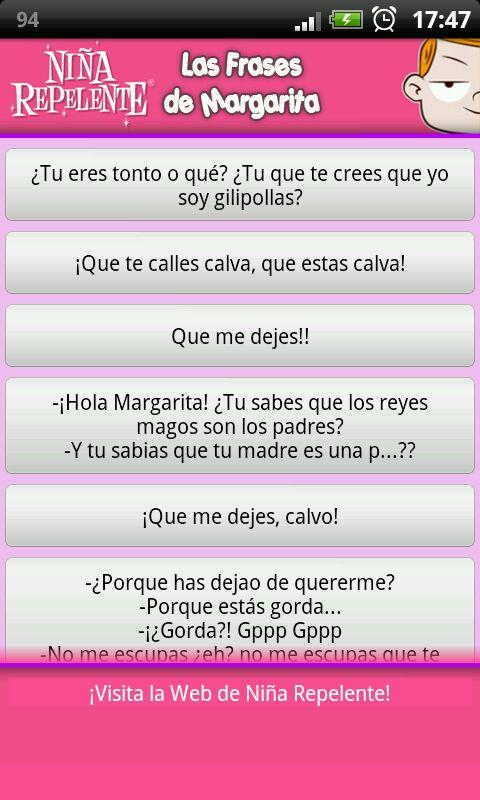 Las Frases de Margarita - screenshot