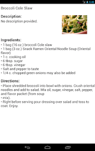 Broccoli Recipes - screenshot thumbnail