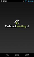 Screenshot of CashbackKorting.nl