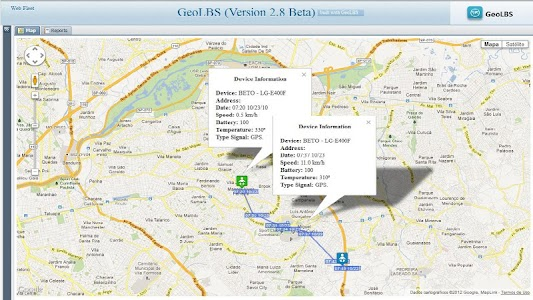 GPS Tracker Web & SMS screenshot 5