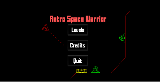 Retro Space Warrior