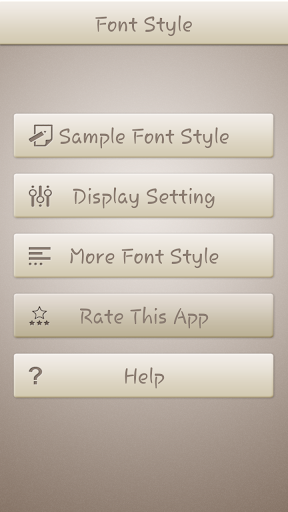 Trackpad Font Style