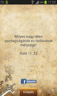 Mit üzen neked a Biblia!? - screenshot thumbnail