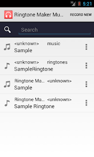 Ringtone Maker & Music Cutter- screenshot thumbnail