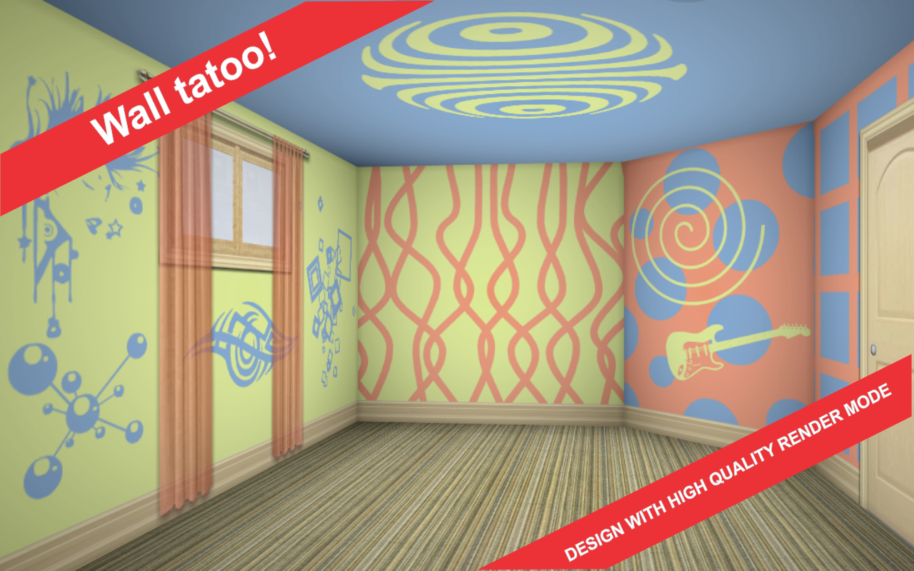 3D Interior Room Design- screenshot