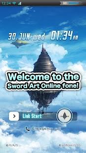 Sword Art Online fone