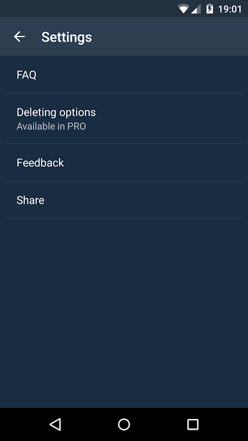 DELETE TWEETS: DLTTR- screenshot