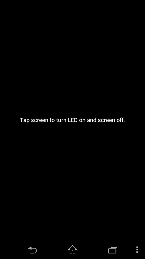 Flashlight Free:No Permissions - screenshot