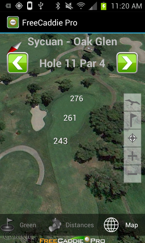 Golf GPS APP & Rangefinder- screenshot
